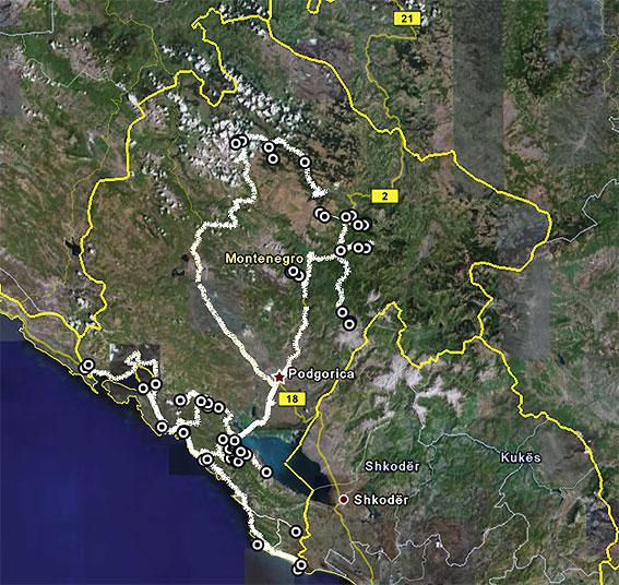 Herpetofauna of Europe : montenegro (april-may 2008)